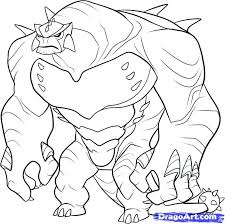 Small Picture 15 ben 10 coloring pages Print Color Craft