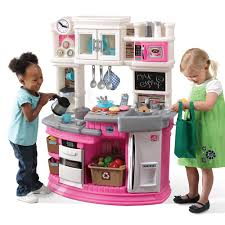 kitchen play sets for toddlers the best goplus wood toy kids cooking pretend set