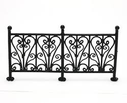 Miniature Wrought Iron Fence 112 Scale Kit Kraft