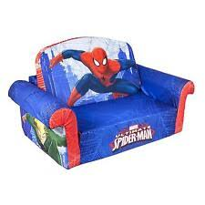 couch bed for kids. Kids Flip Open Sofa Children Couch Lounger Bed Spiderman Futon For L