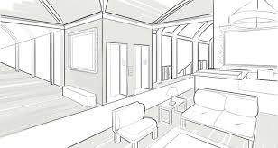architecture design sketches. Delighful Design How Draw Big House Easy Architecture Design Drawing Simple Modern Houses  Step With Two Point Perspective Making Beautiful Interiors Interior Tutorial  On Sketches