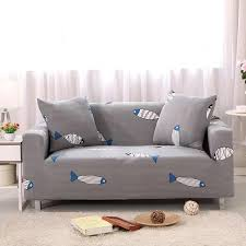 sofa covers. Printed Stretch Elastic Sofa Cover Slipcovers Couch Furniture Protector For 2 Seater - Intl Covers
