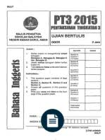 writing sample essay of autobiographical incident 2015 ppt3 kedah bi w ans