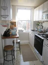 apartment therapy breakfast nook galley kitchen - Google Search