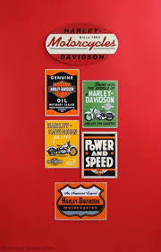 Harley Davidson Signs Decor Decorating With HarleyDavidson Signs 31