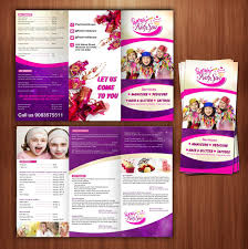 Make Beauty Salon Flyer And Brochure Design Within 24 Hours