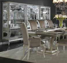 Hollywood Swank Large Dining Table By AICO Aico Dining Room - Aico dining room set