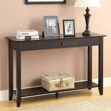 console table with drawers sofa table hall console tables with drawers