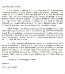 Sample Welcome Letter 6 Documents In Doc