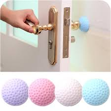 2018 door handle per guard stoppers wall shield protector self adhesive silicone rubber round door stopper from angehome 0 34 dhgate