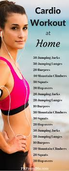 30 min cardio workout at home no equipment workout weight loss workouts at home