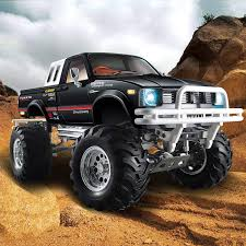 HG P407/407A 1/10 4WD 3CH Rally RC Car Metal 4X4 Pickup Truck Racing ...