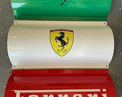 Lights are available in many types and attain the performance and exterior looks you call for. Ferrari Garage Sign Etsy