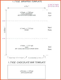 Blank Candy Bar Wrapper Template Chocolate Wrapper Template Blank Templates Ntc2mtq