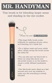 lux eye makeup brush set