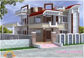 Small Picture Exterior design of house in India Kerala home design and floor plans