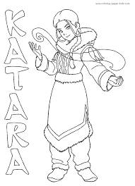 Small Picture Avatar The Last Airbender color page Coloring pages for kids