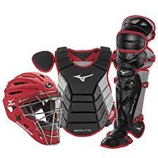 Mizuno Catchers Gear Size Chart Amazon Com Mizuno Samurai Youth Baseball Catchers Gear
