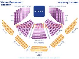 Vivian Beaumont Theatre On Broadway In Nyc