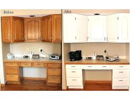 refinishing wood cabinet charming refinishing oak kitchen cabinets in painting oak kitchen cabinets white before and after kitchen oak painting wood