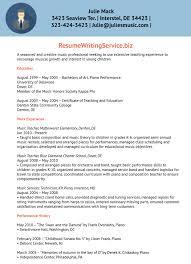 Music Teacher Resume Cover Letter Music Teacher Resume Examples Resume For Study 47