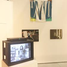 Installation Shot With Martha Rosler Semiotics Of The Kitchen Video At  Transmission, Curated By Sarina