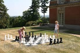 garden chess set. Gcp-25e.jpg Garden Chess Set