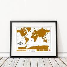 True Map | Настенная стирающаяся <b>скретч карта мира</b> от ...