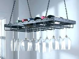 ceiling wine glass rack stemware hanging target ikea