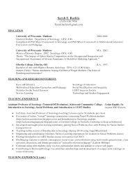 Education College Education On Resume