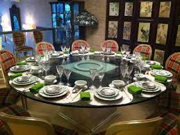 round table place settings interior design ideas