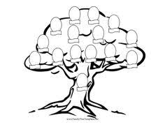 Small Picture Cut out pictures of family members and decorate the branches of