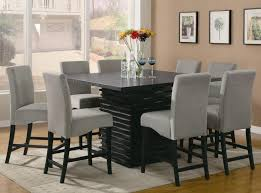 sophisticated 8 person dining table set nice decoration square of chair