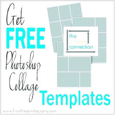 Postcard Collage Template Wish Postcards Back And Digital Collage Sheet Layered