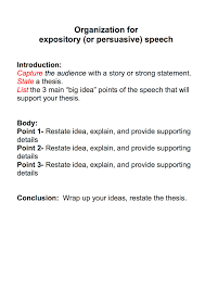 speech outline ms shirota s blog speech organization