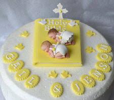Name Plaque Edible Sugar Fondant Cake Topper Decoration