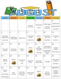 Meal Budget Planner Monthly And Weekly Meal Plan With Grocery Lists And Recipes
