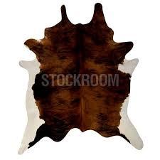 mini cowhide rug