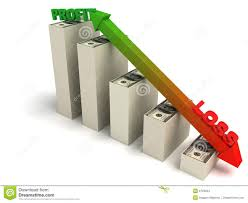 Proffit And Loss Profit And Loss Graph Stock Illustration Illustration Of Loss 6729204