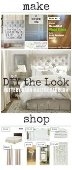 pottery barn master bedroom decor. Plain Pottery Pottery Barn Master Bedroom DIY The Look You Donu0027t Have To Spend And Bedroom Decor S