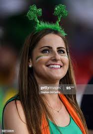 Lille , France - 22 June 2016; Republic of Ireland supporter Audrey... News  Photo - Getty Images