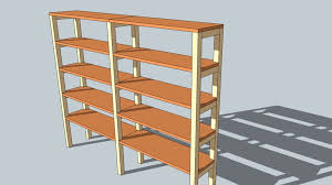 picture of diy shelving unit