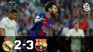 Real Madrid vs Barcelona 2-3 ○ All ...