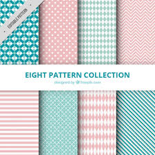 Pattern Collection Enchanting Collection Of Patterns With Abstract Drawings Vector Free Download