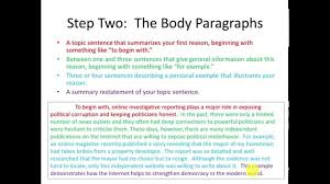Toefl Writing Templates Independent Essay
