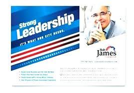Campaign Brochure Political Brochure Template Brochures Vector Format Download