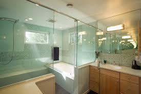 Master Bathroom with Walk-in shower contemporary-bathroom