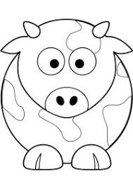 Kleurplaten Dieren Koeien
