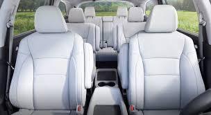 2017 honda pilot seats