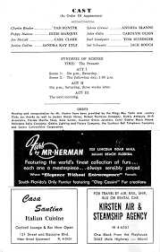 """Tab Hunter""""THE TENDER TRAP"""" Larry King Radio Show Ad 1963 Miami Beach  Playbill at Amazon's Entertainment Collectibles Store"""